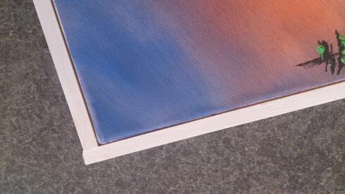 verschiedenArt: Keilrahmenbilder einfach selbst rahmen