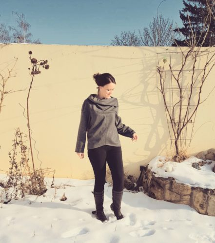 verschiedenArt: Oversize Pullover zum Wenden burda 109 10/2015