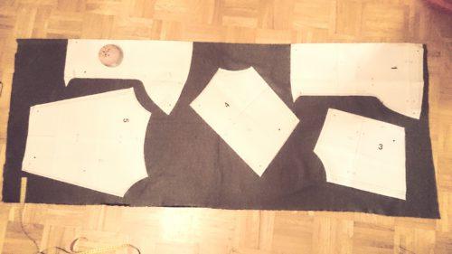 verschiedenArt: Zuschnitt Oversize Pullover selbstgenäht burda 109 10/2015