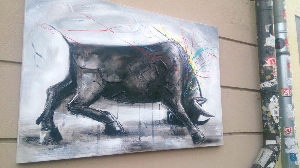 verschiedenArt: Inspiration durch Streetart und in der Galerie an der Donau
