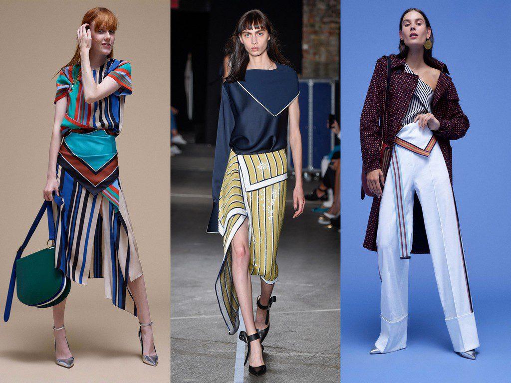 verschiedenArt: Inspiration vom Laufsteg in den Kleiderschrank - Fold over Waist Beispiele