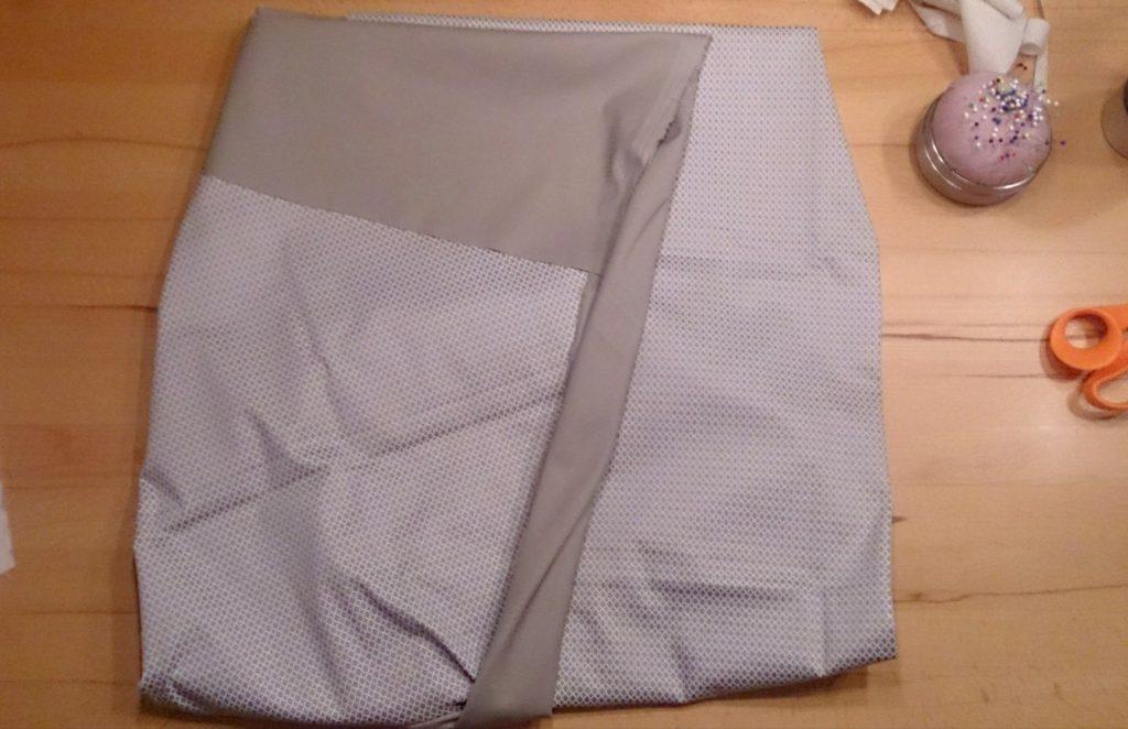 verschiedenArt: Rock mit Foldover Waist - Origami