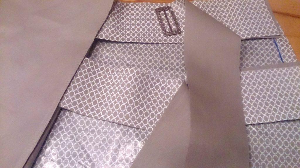 verschiedenArt: Rock mit Foldover Waist - Zuschnitt Bindebänder