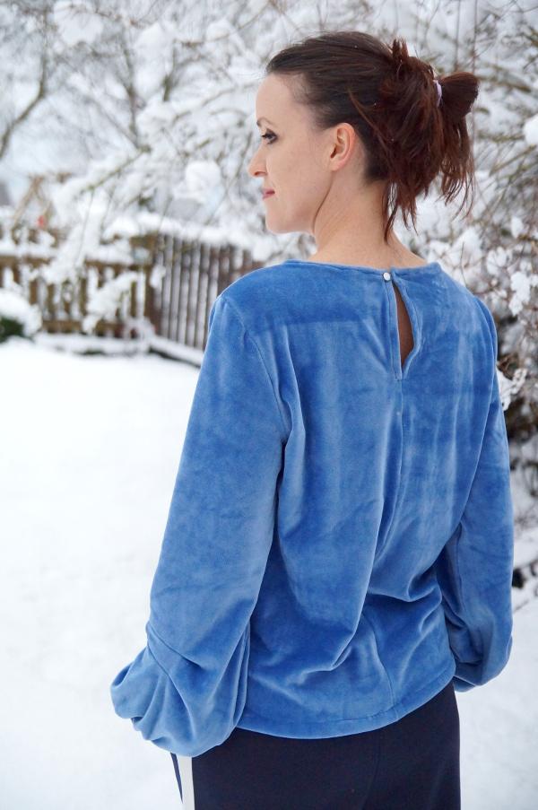 Nicki Shirt burda von hinten