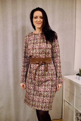 verschiedenArt im neuen Winterkleid mit Gürtel